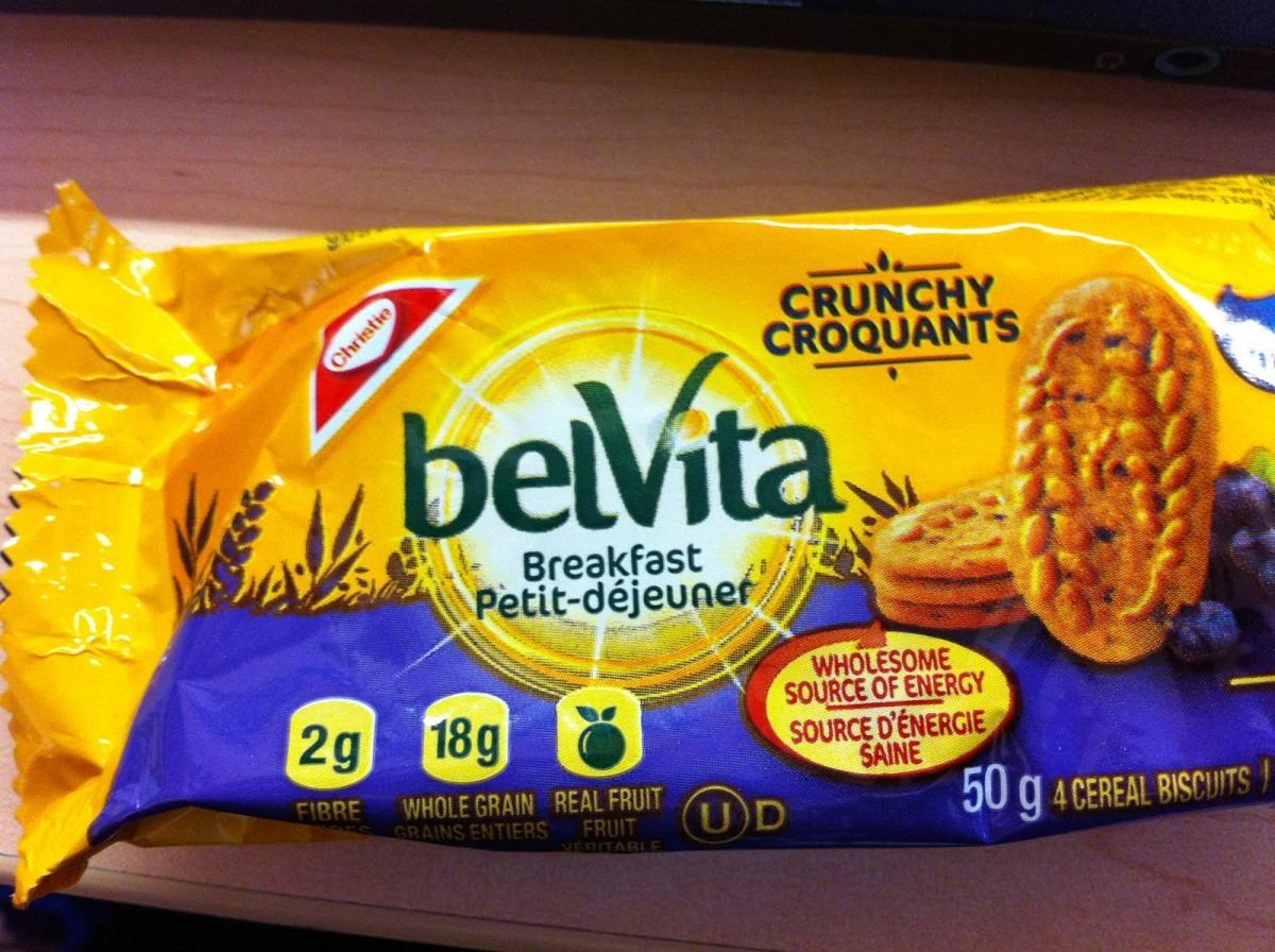 Weighty Matters  Badvertising  Belvita Breakfast Cookies Are