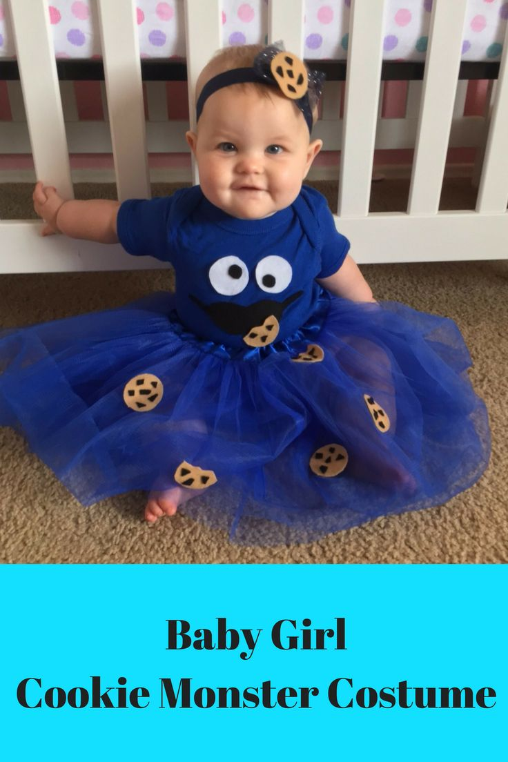 23 Monster Baby Costumes, Cookie Monster Baby Costume Photo 2 2