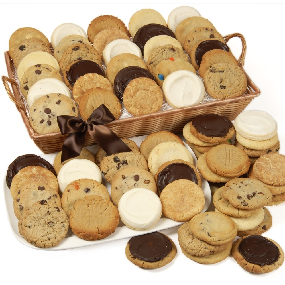 Rectangle Assorted Cookie Gift Basket