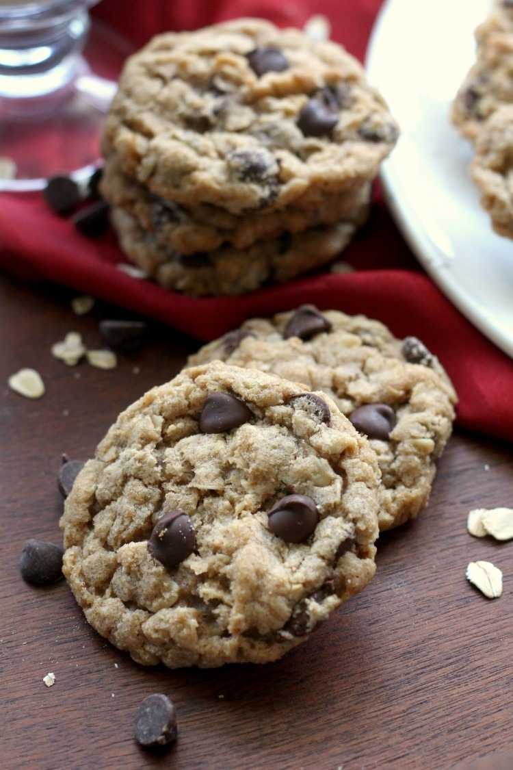 The Best Brown Butter Oatmeal Cookies