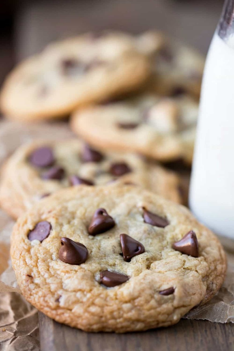 Chewy Brown Sugar Chocolate Chip Cookie Recipe