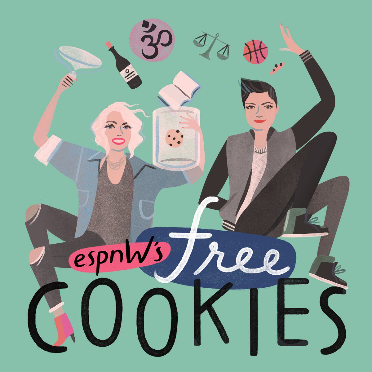 Kathryn Budig On Twitter   Our New @espnw Podcast, Free Cookies Is