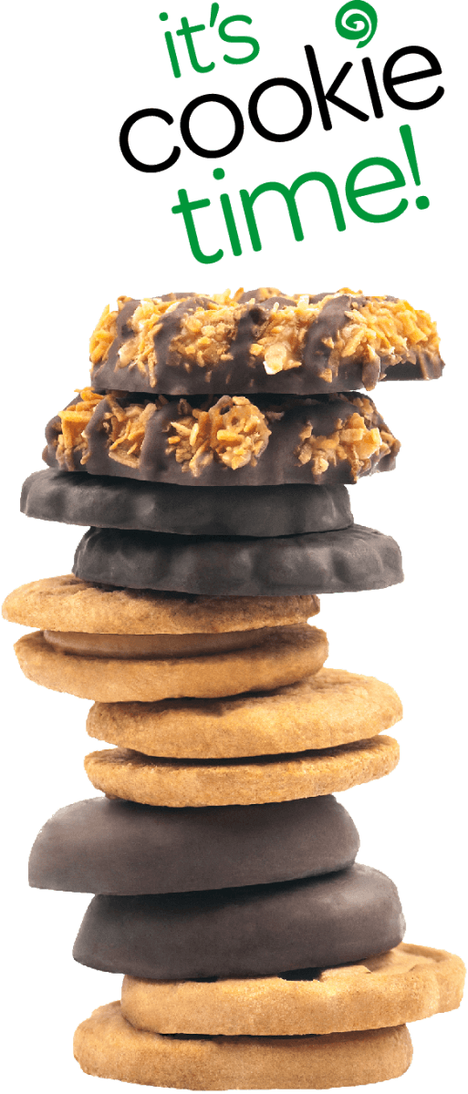 What's On This Page  Here You Will Find Colorful Girl Scout Cookie