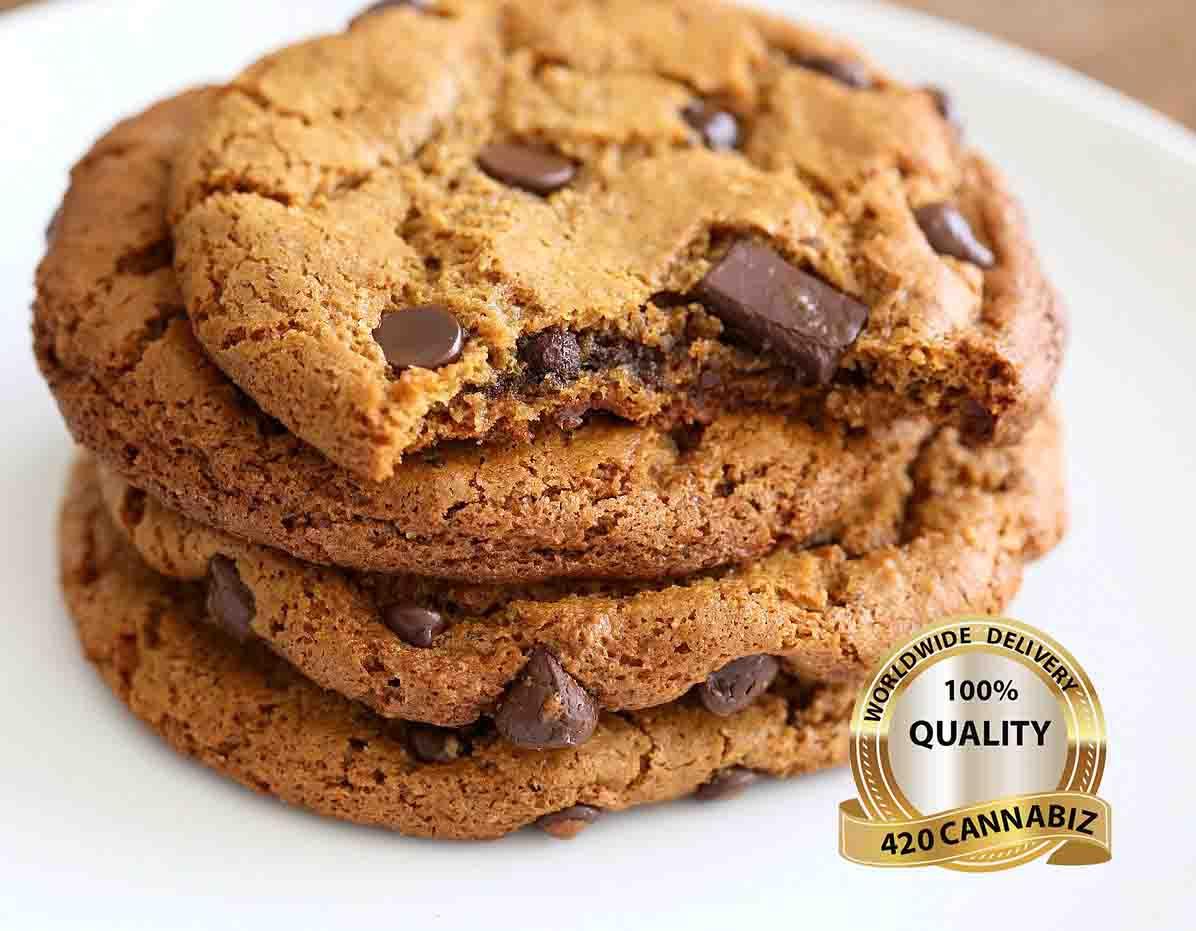 Cannabis Chocolate Chip Cookie Bite