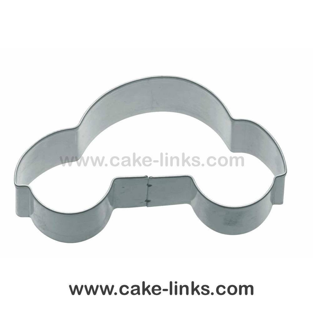 Car Cookie Cutter Cake