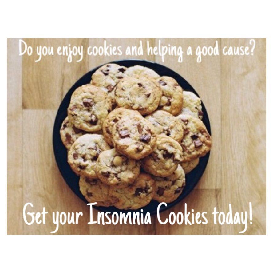 Akron Alpha Phi On Twitter   Our Insomnia Cookies Fundraiser Is