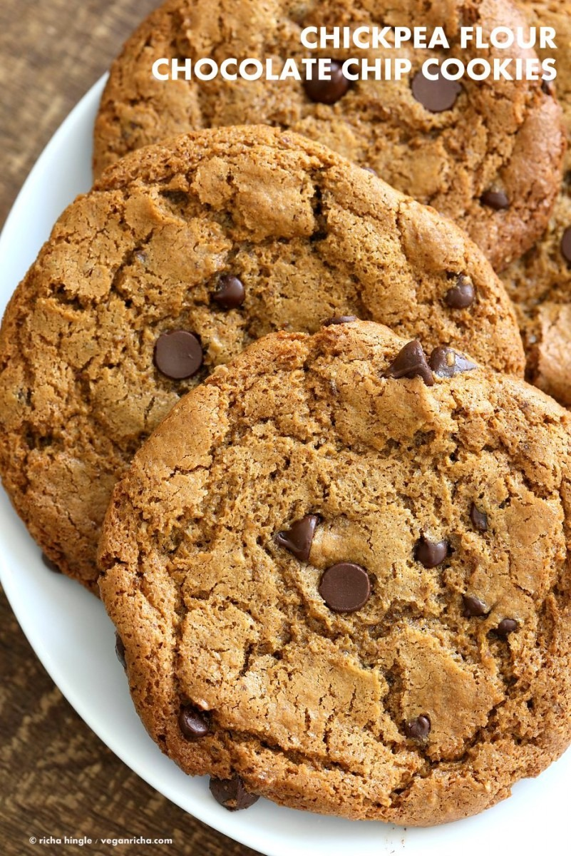 Chickpea Flour Chocolate Chip Cookies Gluten