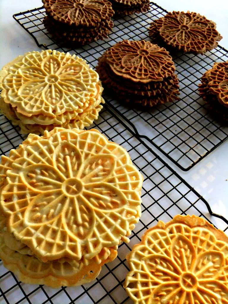 Making Pizzelle