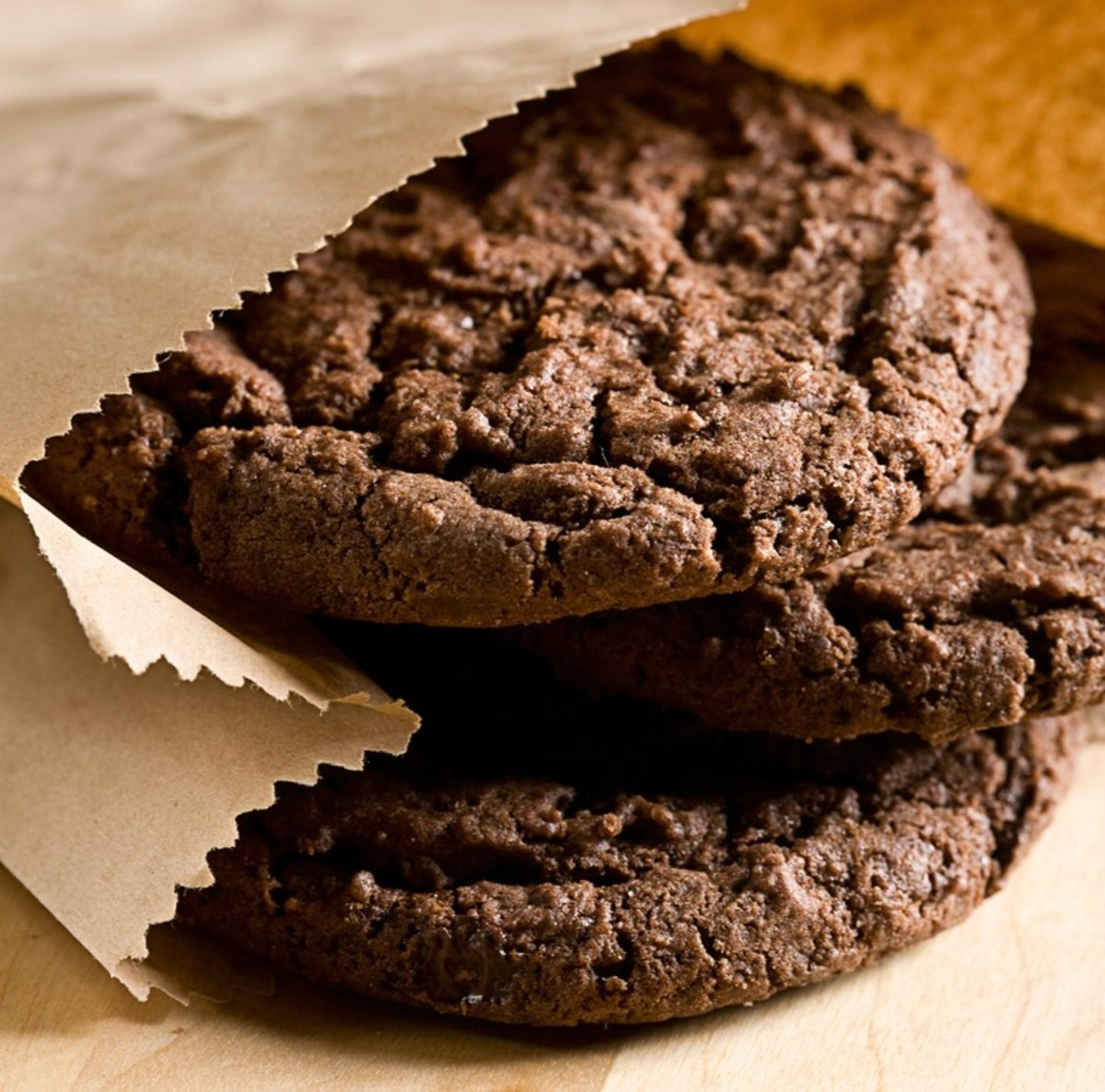 Chocolate Chocolate Cookies With Cookie Crumbs