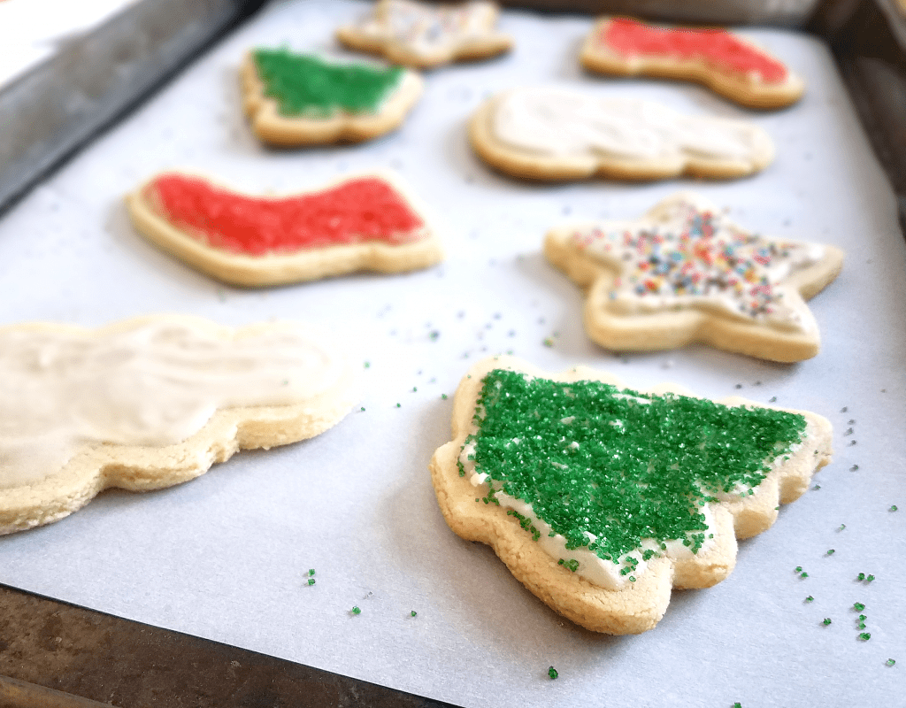 Healthy Christmas Cookies With Sugar Free Icing