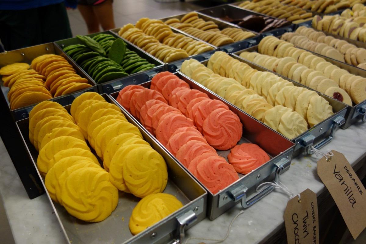 Pastel Colour Cookies @ Wholefoods