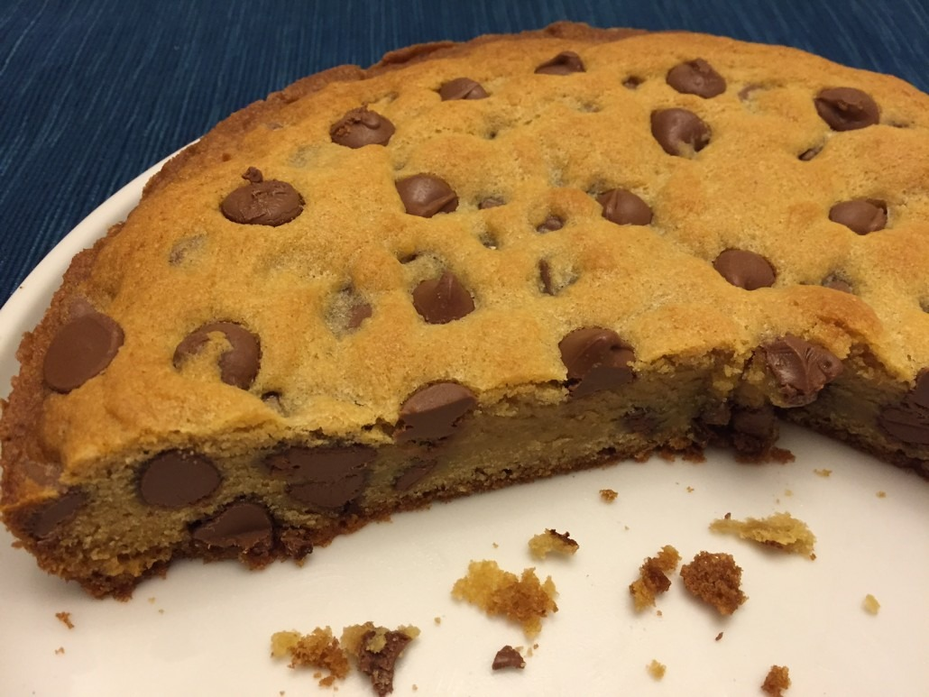 How To Make Chocolate Chip Cookie Cake – Best Recipe Ever