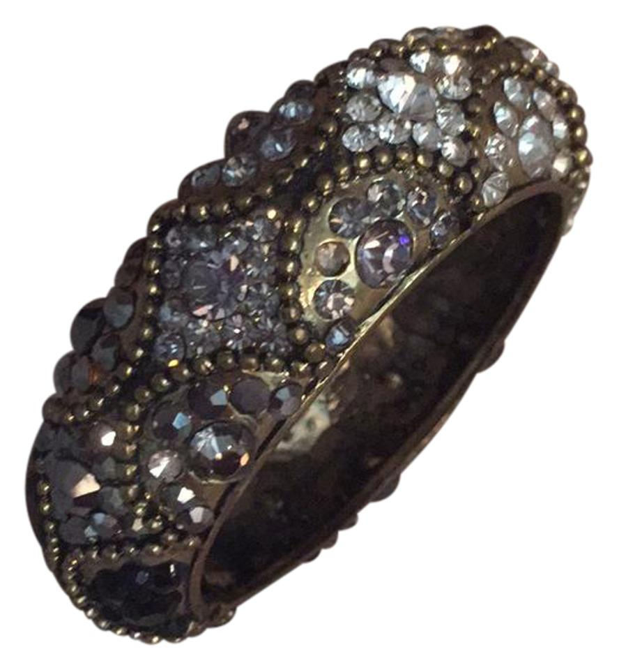 Cookie Lee Stunning Embellished Cuff Bracelet