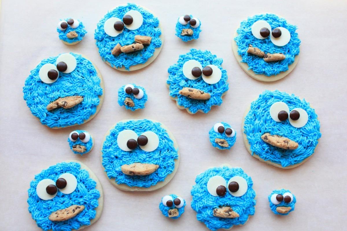 Munchkin Munchies  Cookie Monster Cookies