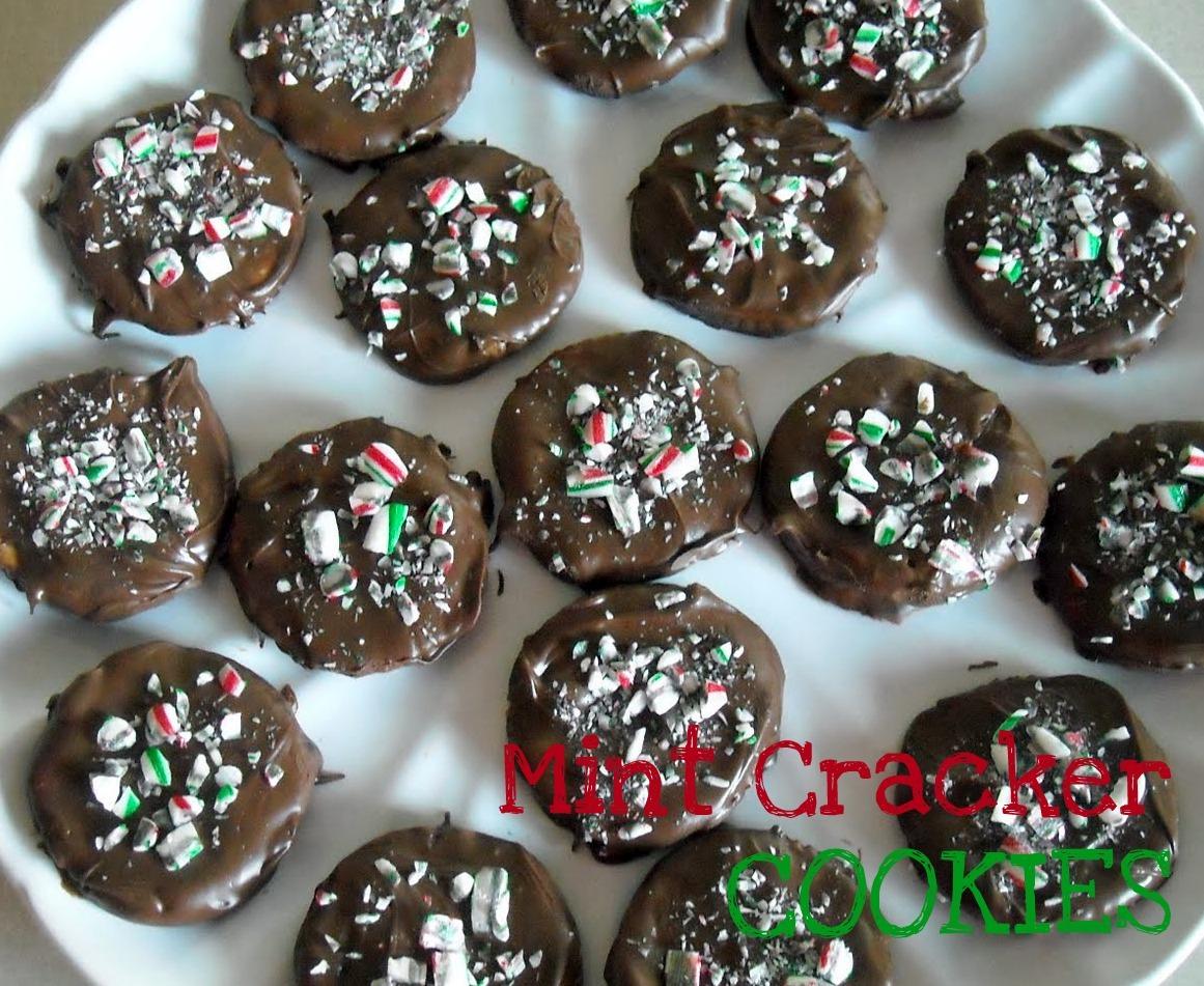 Easy Chocolate Thin Mint Ritz Crackers Cookies Recipe   Six