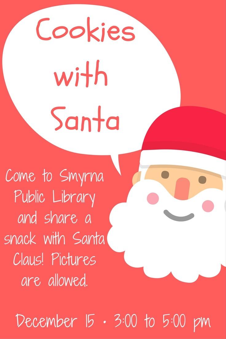 Smyrna Cookies With Santa