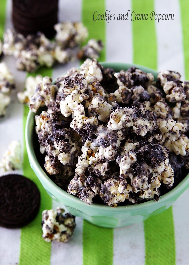 Cookies And Cream Popcorn