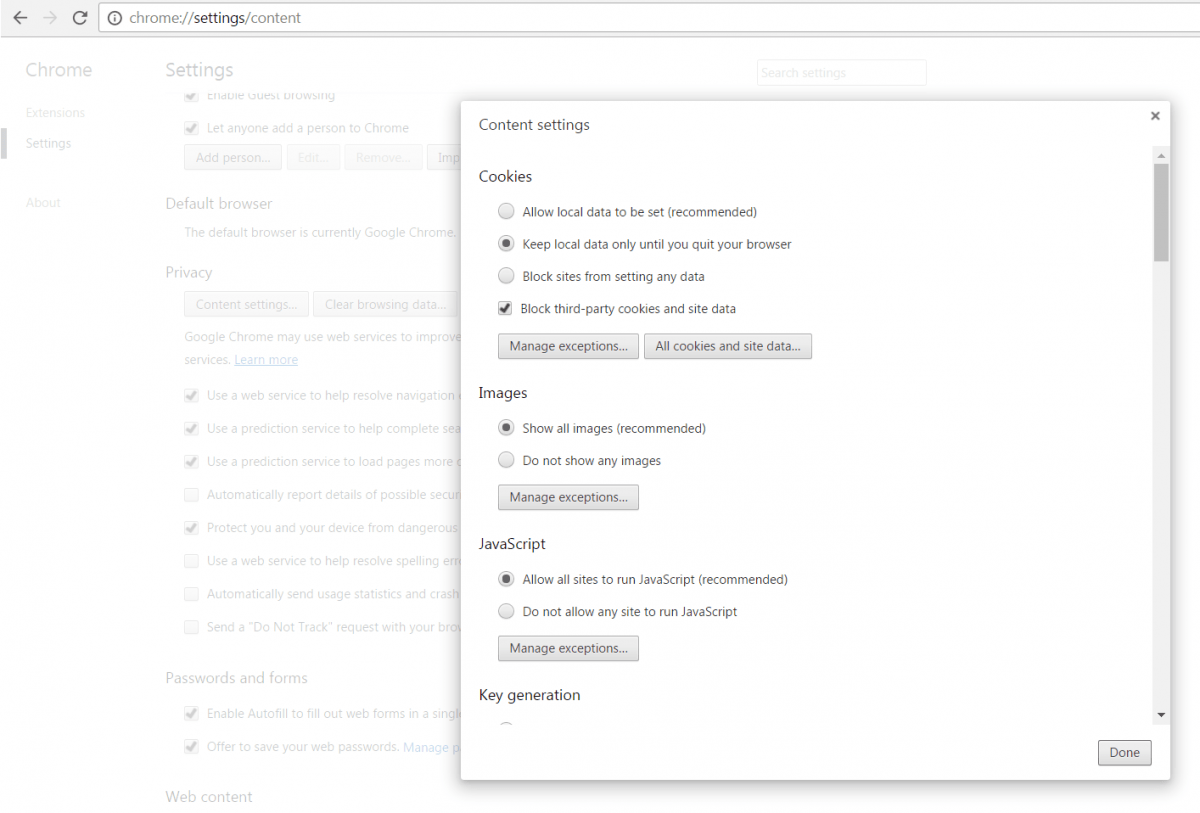 How To Manage Web Cookies