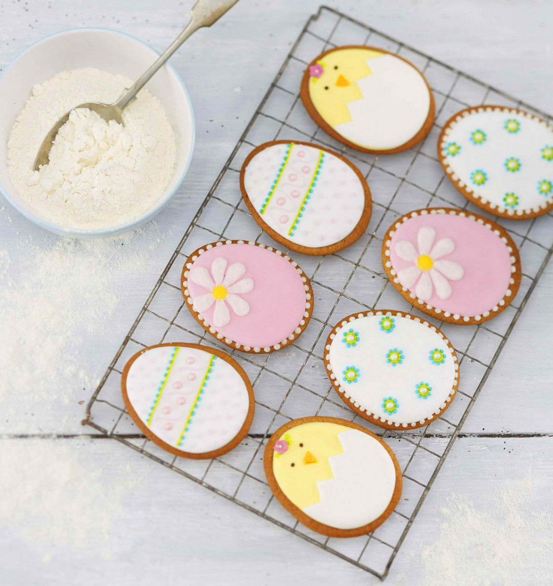 How To Make Easter Egg Cookies