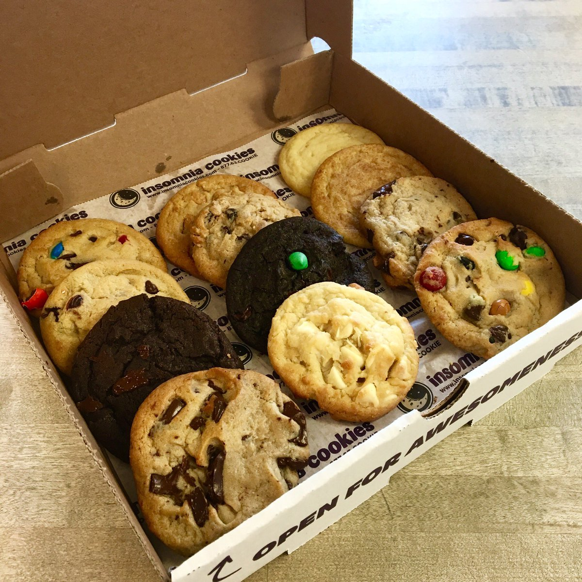 Insomnia Cookies On Twitter   We're Working Hard To Be Open Asap