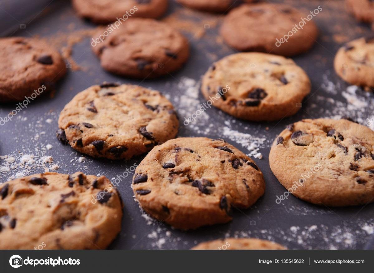 Freshly Baked Cookies — Stock Photo © Belchonock  135545622