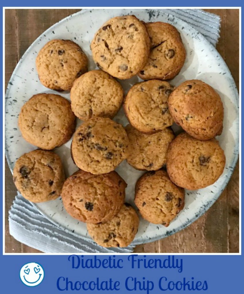 Delicious Diabetic Friendly Chocolate Chip Cookies