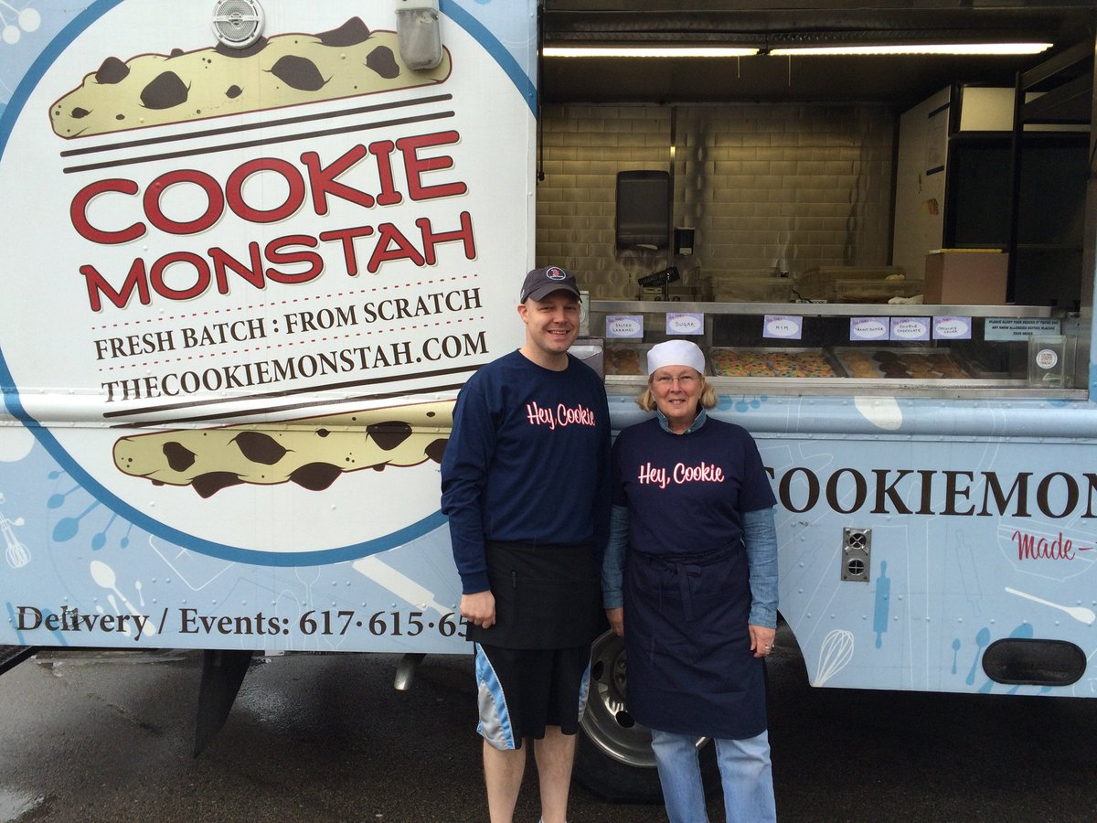 The Cookie Monstah On Twitter   Hey Cookie! The Trucks Are Back In