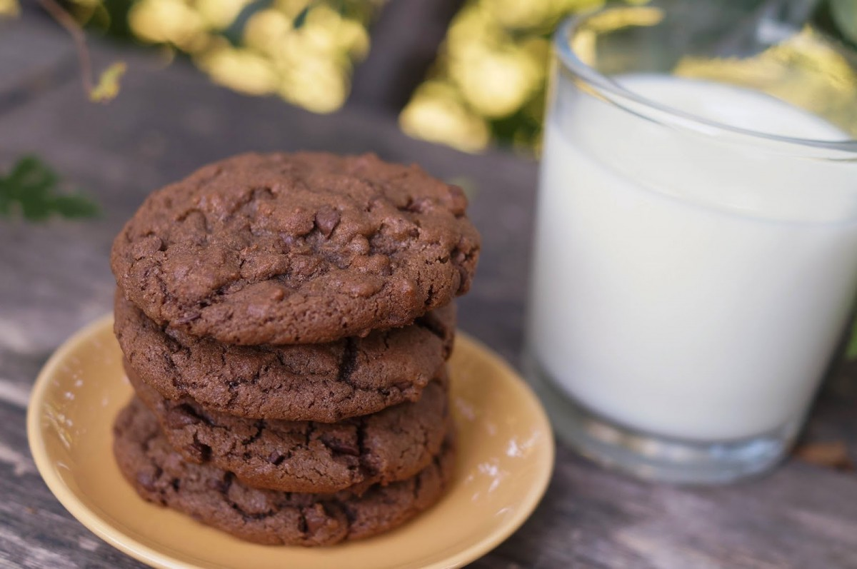 In The Kitchen With Jenny  Chewy Double Chocolate Chip Cookies