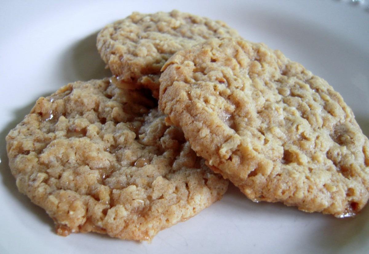 Amazing Hard Boiled Egg Oatmeal Toffee Cookies