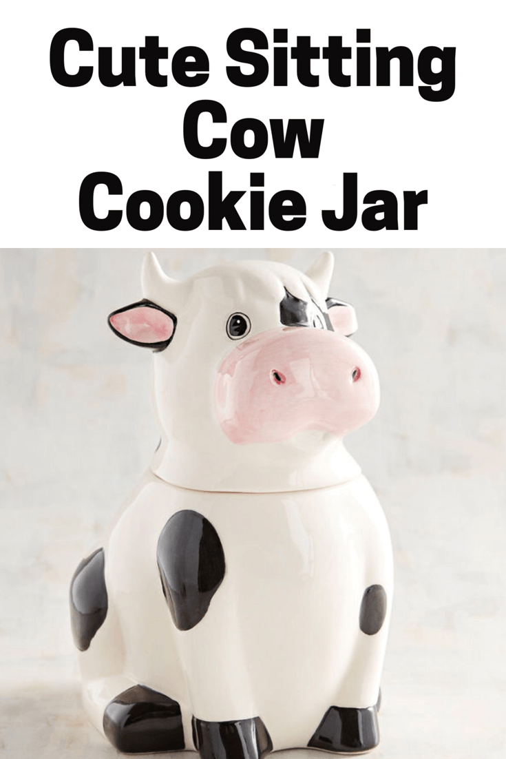 How Cute Is This Cow Cookie Jar  He Would Be So Cute Holding My