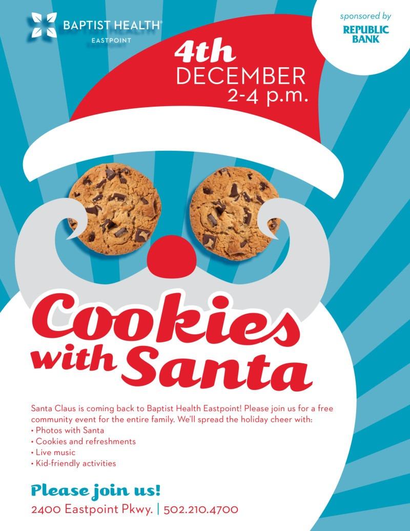 Cookies With Santa In Louisville At Baptist Health Eastpoint