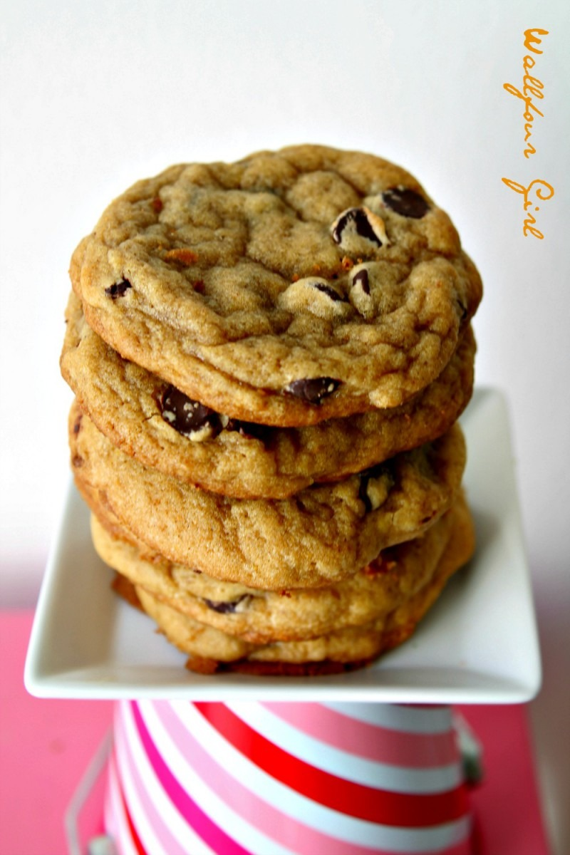My Favorite Thick & Chewy Chocolate Chip Cookie