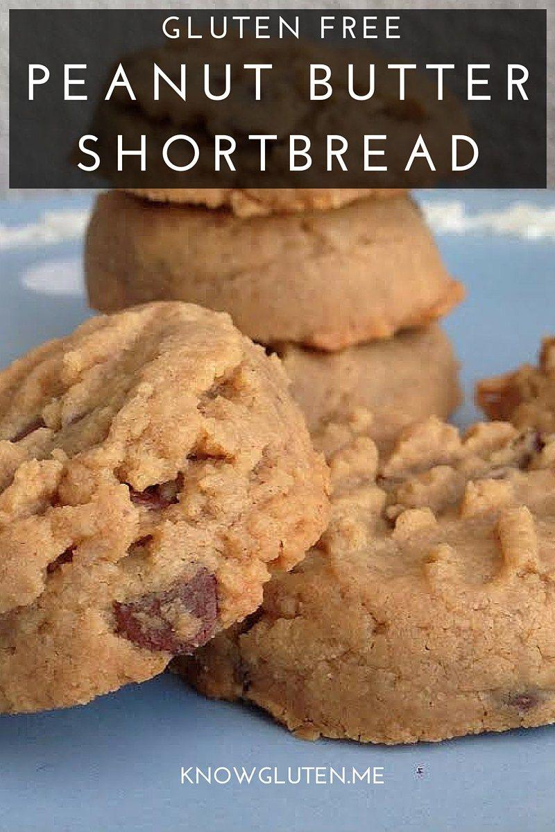 Gluten Free Peanut Butter Shortbread Cookies
