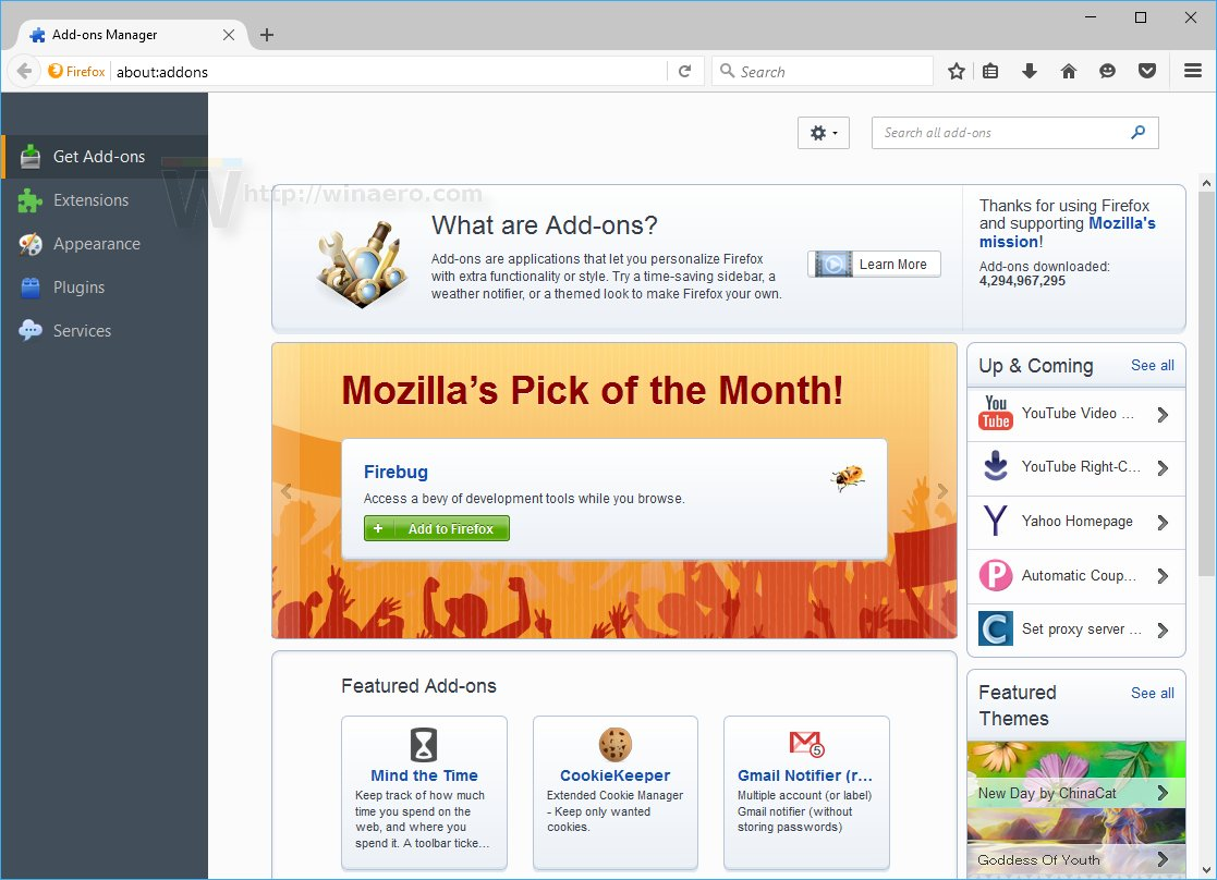 Firefox Cookie Manager