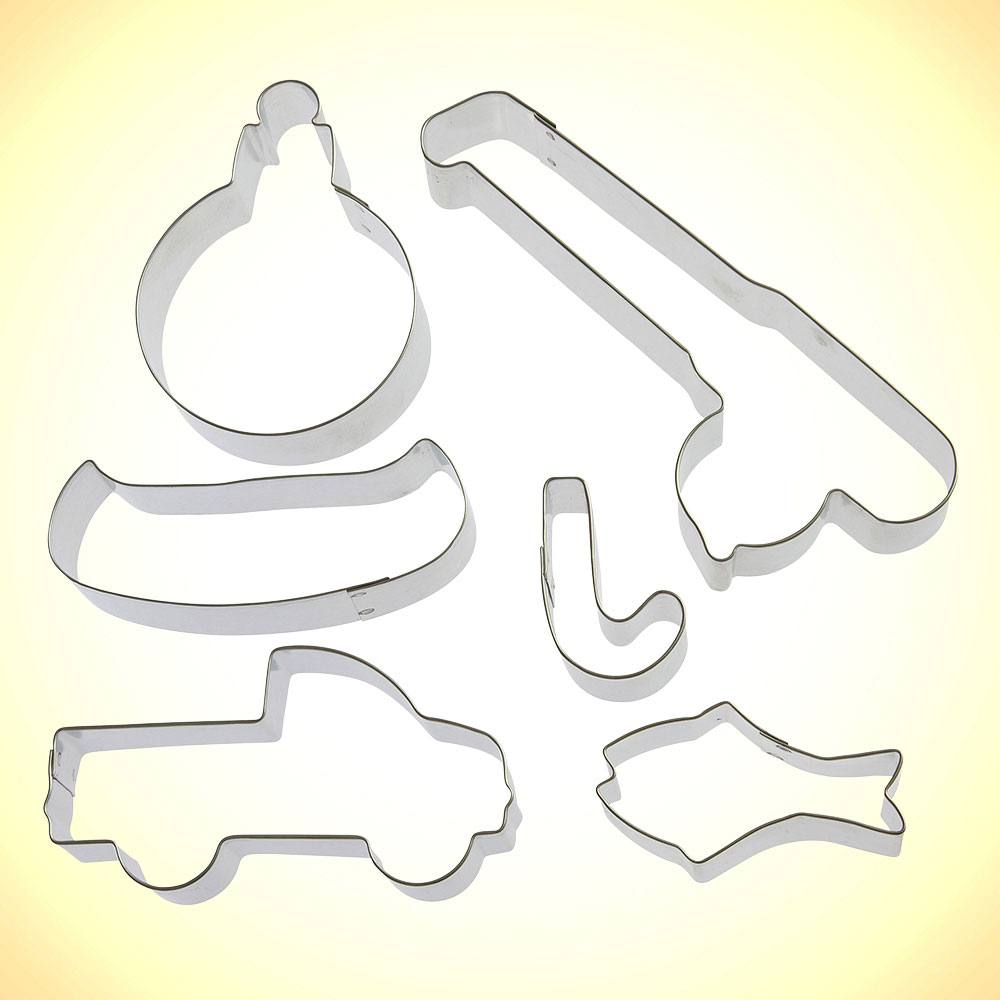 Live To Fish Cookie Cutter 6 Pc Set Hs0424