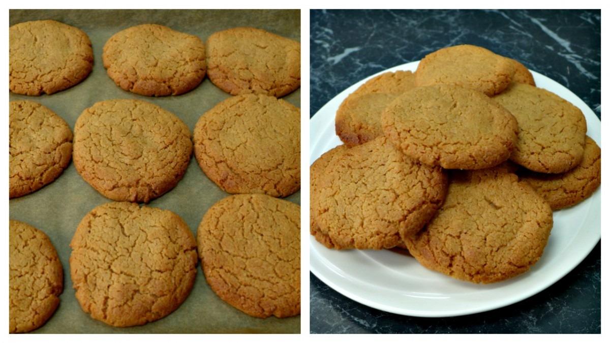 Flourless Peanut Butter Cookies Recipe 3 Ingredients Gluten Free