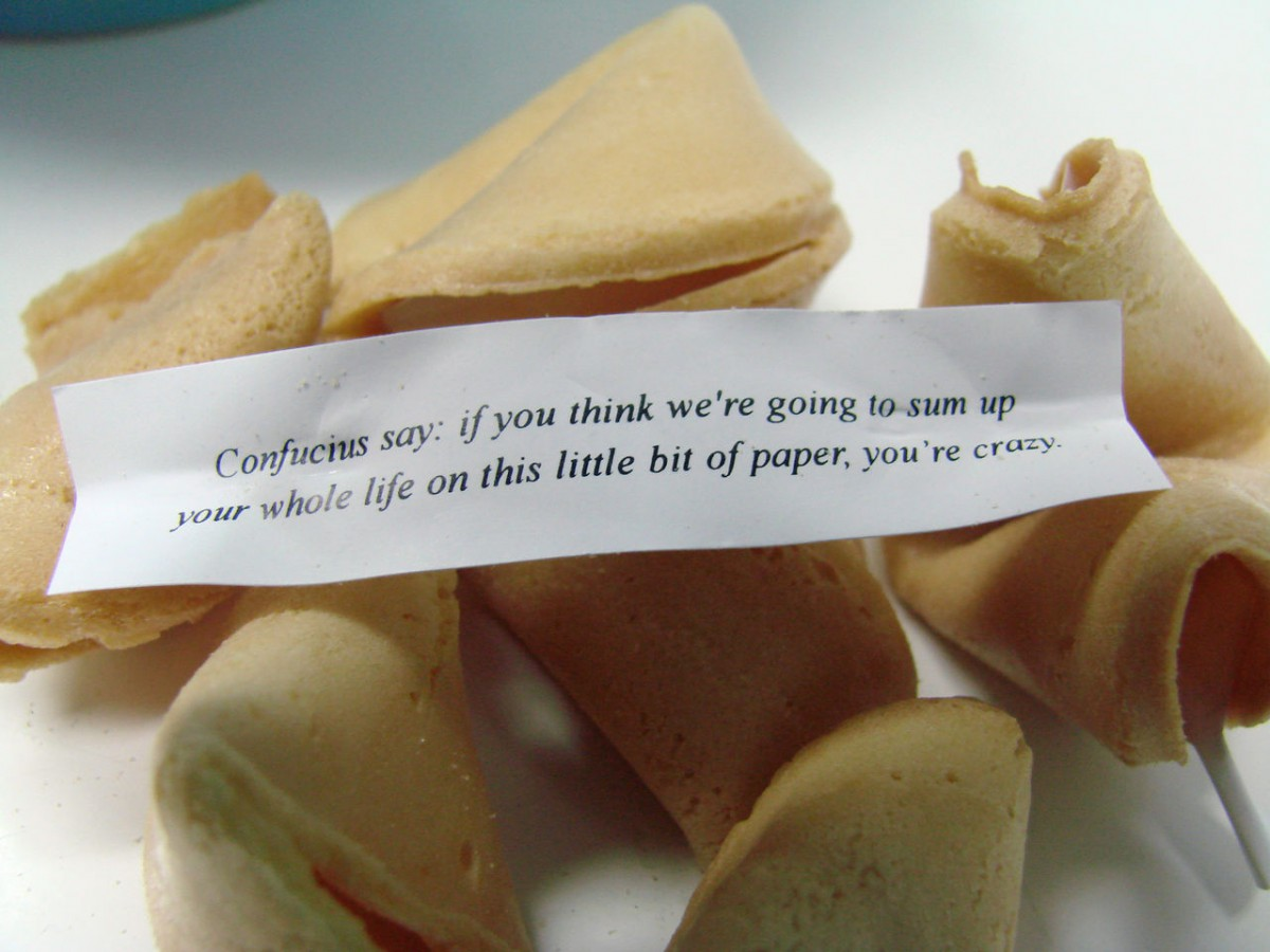 Examined Worlds  Fortune Cookie Philosophy