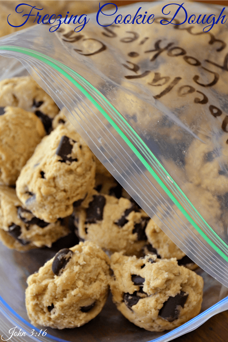 Freeze Cookie Dough To Have Available Anytime