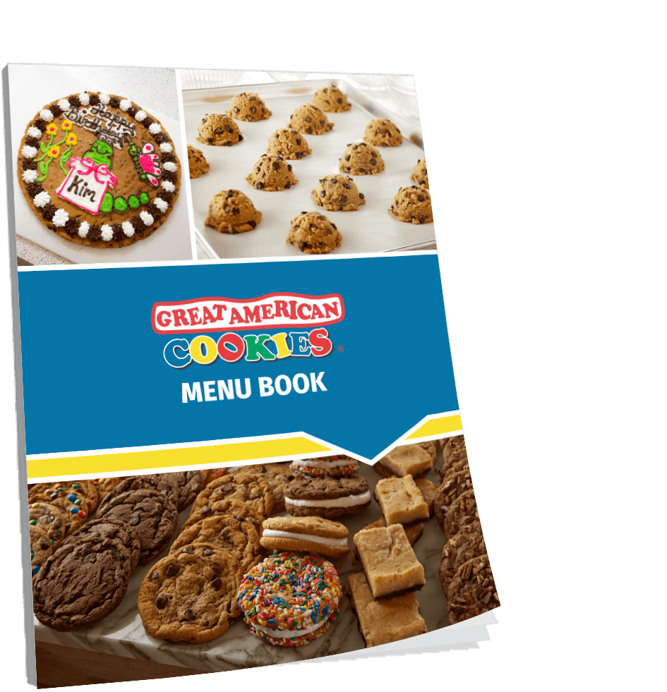 Great American Cookies Menu Book