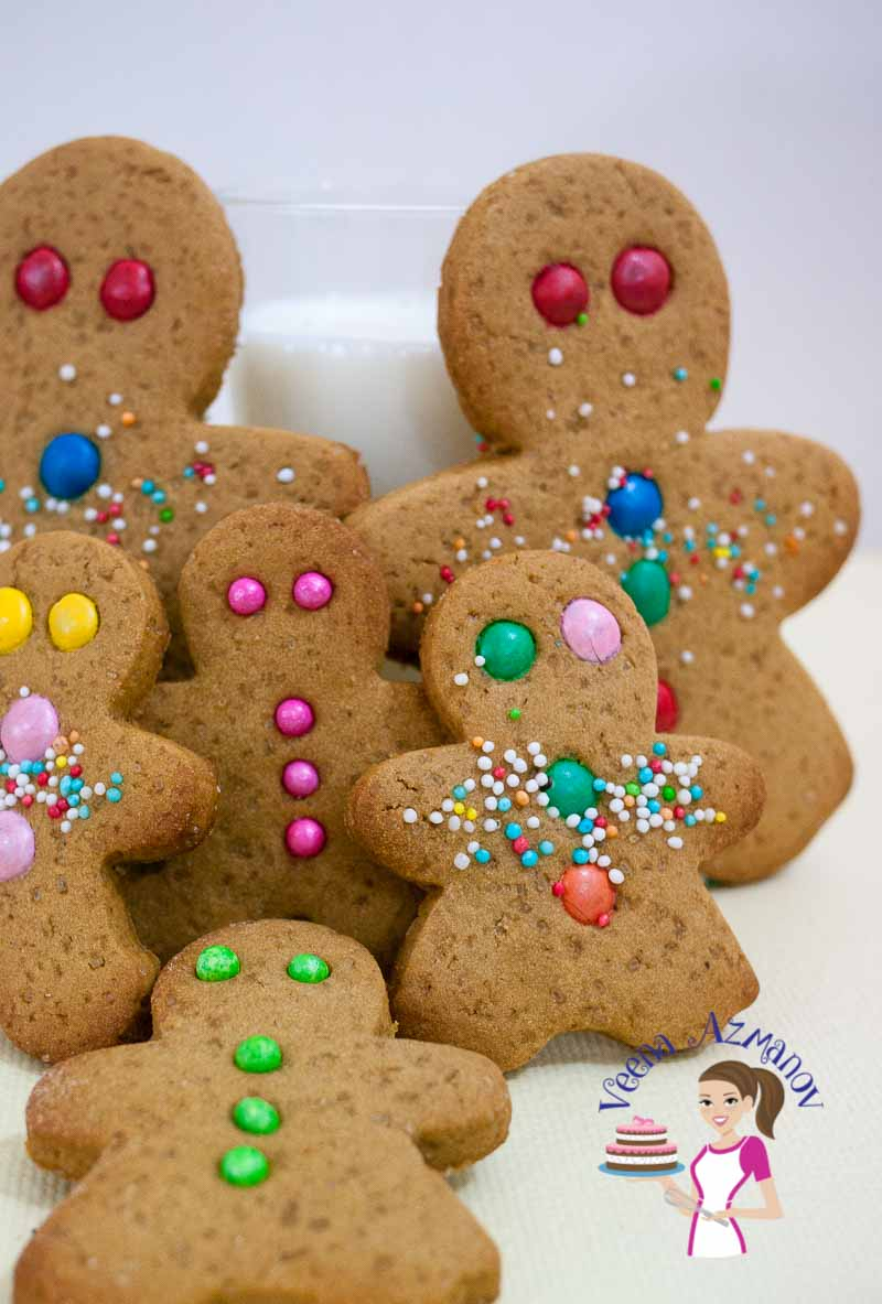 Gingerbread Cookies Recipe That Do Not Spread