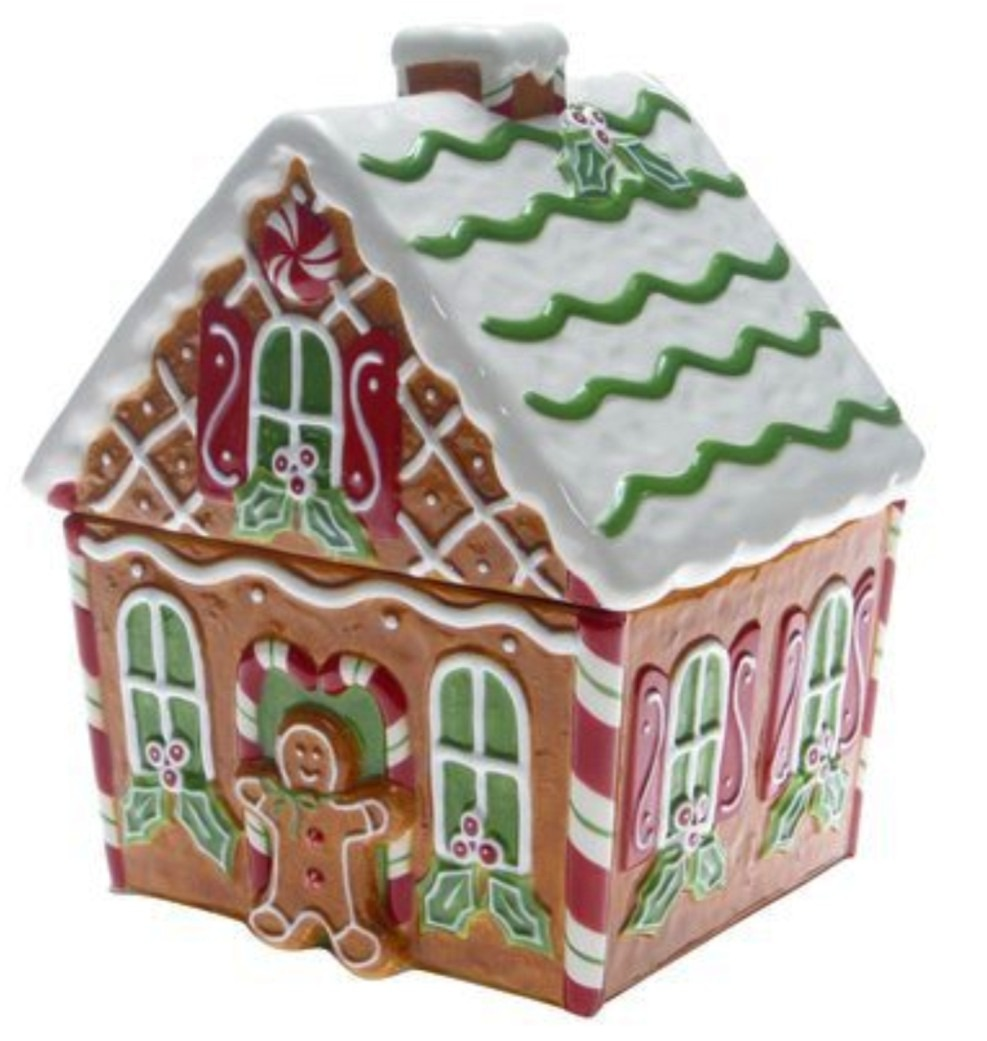 J  Thaddeus Ozark's Cookie Jars And Other Larks  Gingerbread House