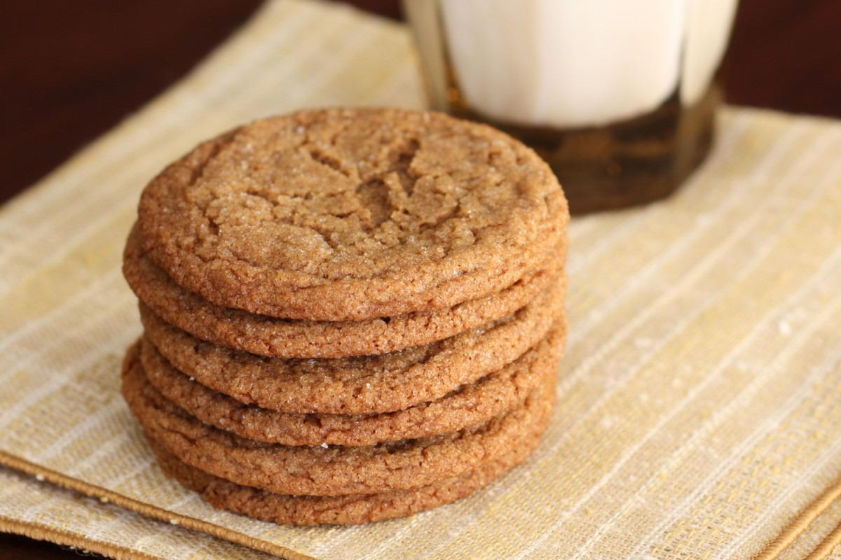 That Winsome Girl  Ginger Spice Cookies