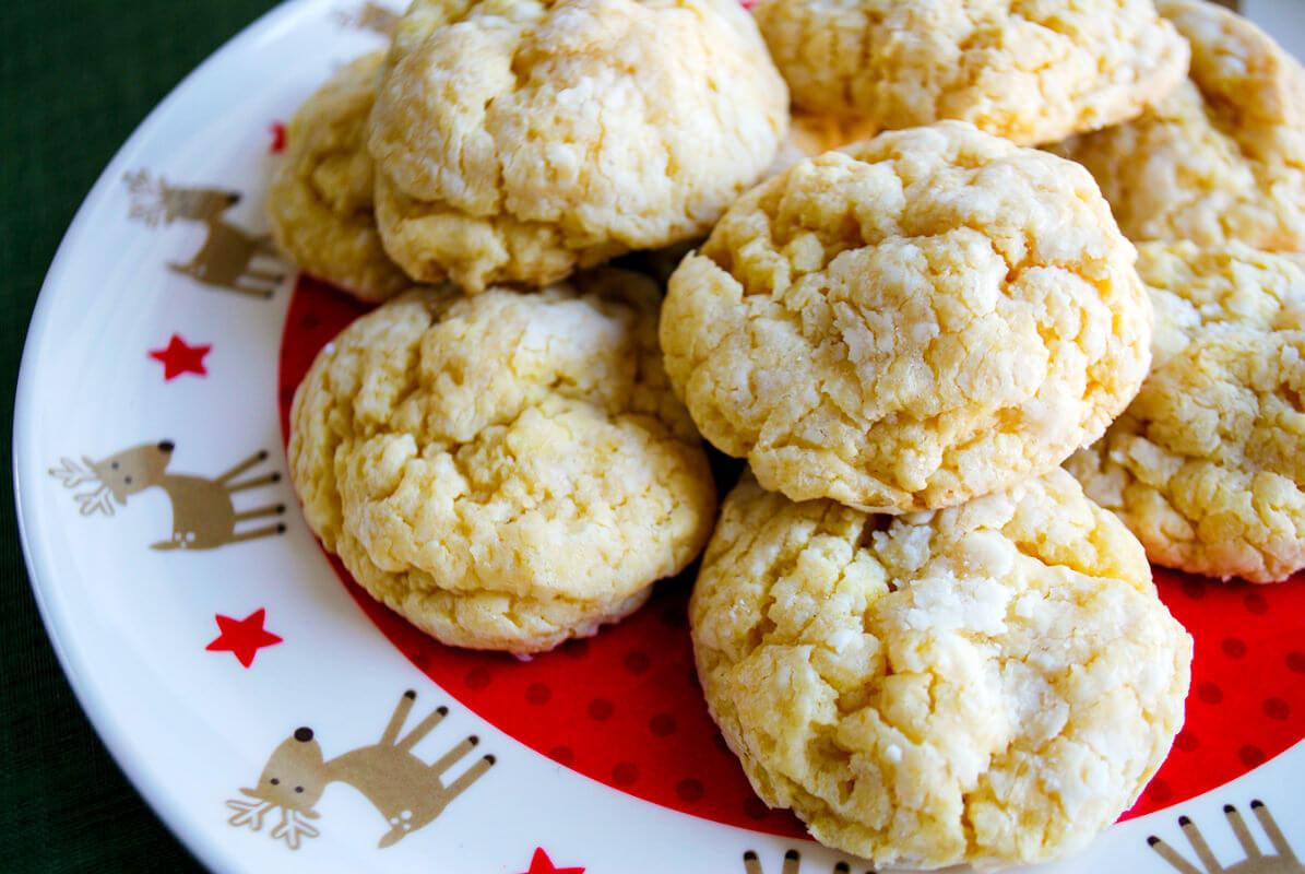 Gooey Butter Cookies Recipe (aka Cake Mix Cookies)
