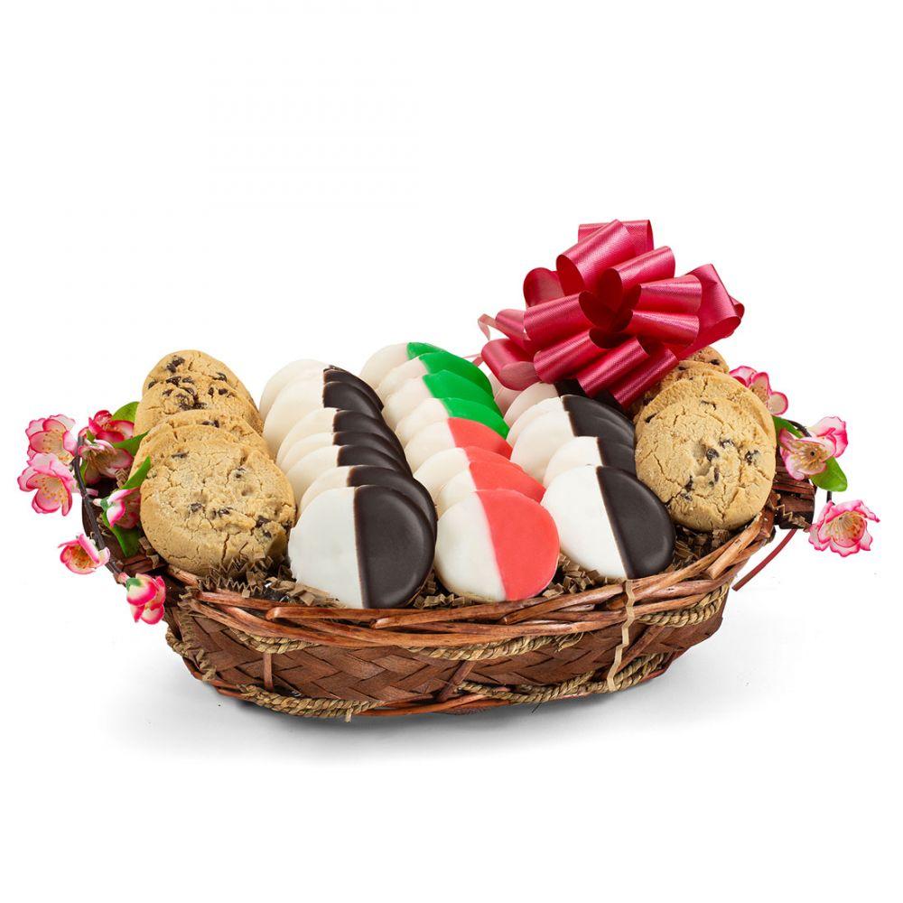 Gourmet Holiday Cookie Basket