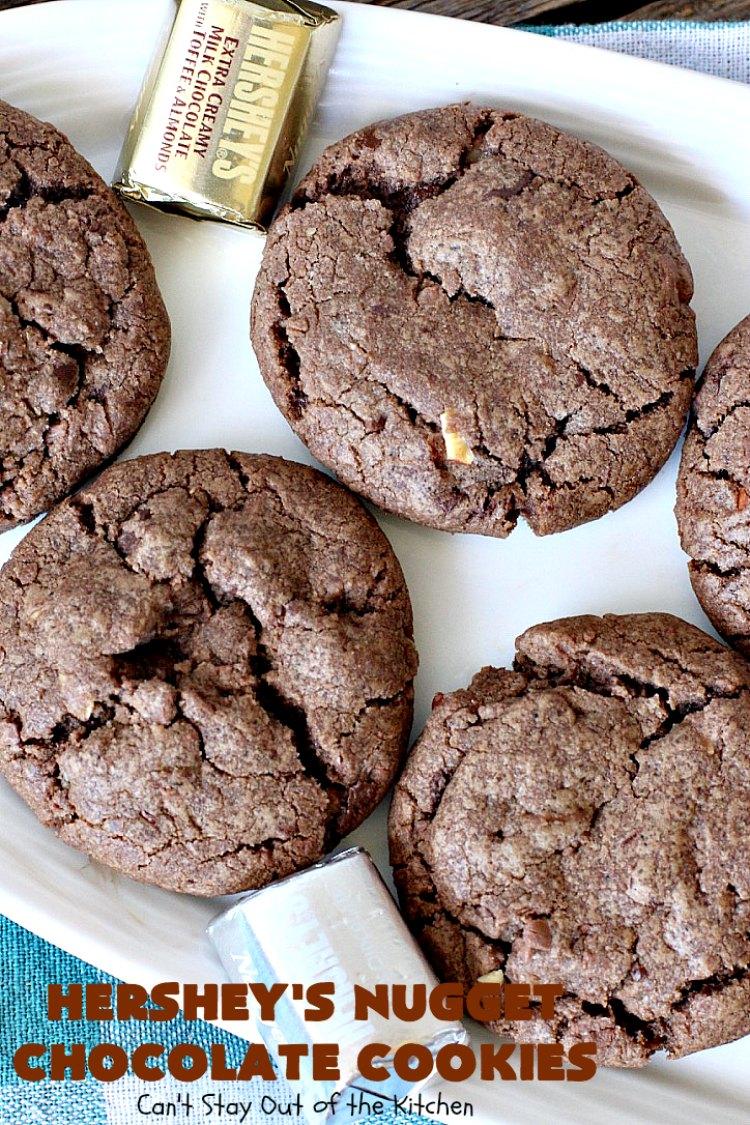 Hershey's Nugget Chocolate Cookies