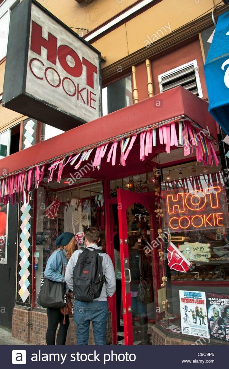Hot Cookie Castro San Francisco California United States Of