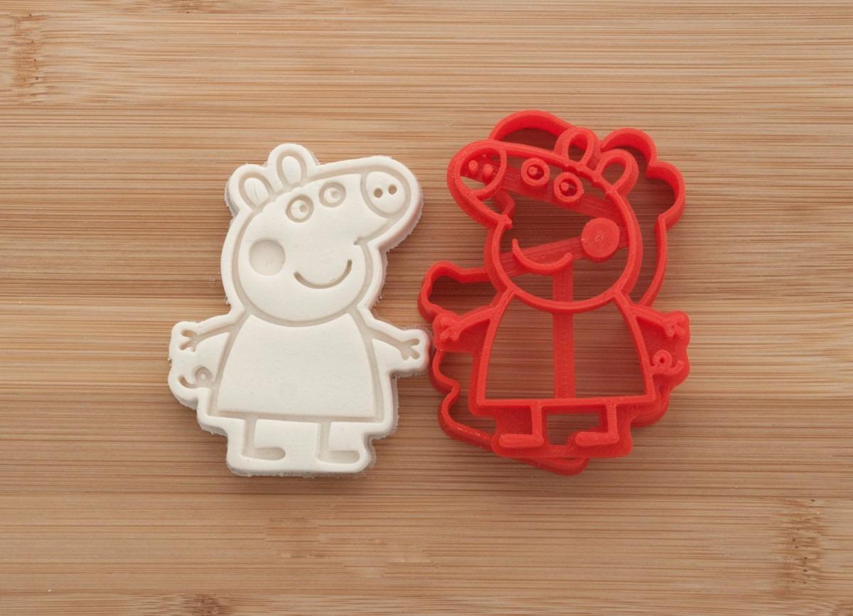 Peppa Pig  Cookie Cutters  Gingerbread Fondant Cookies