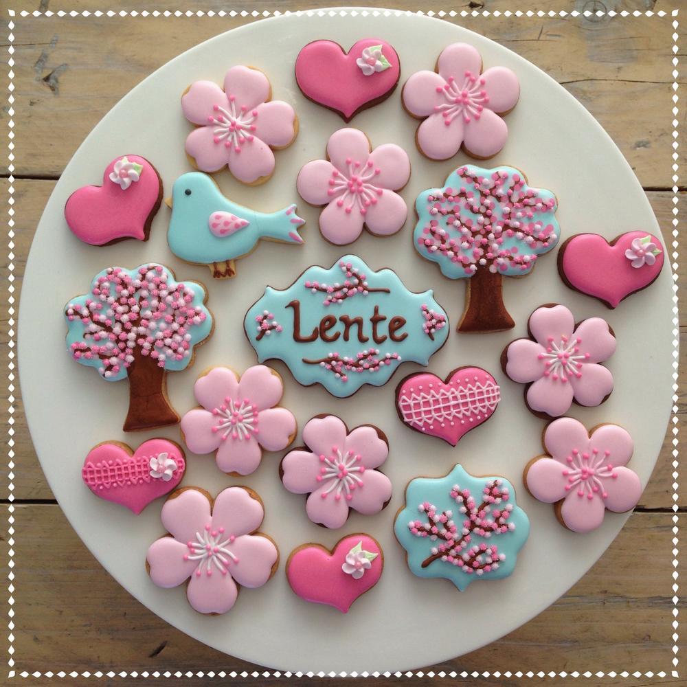 Cherry Blossom Cookies