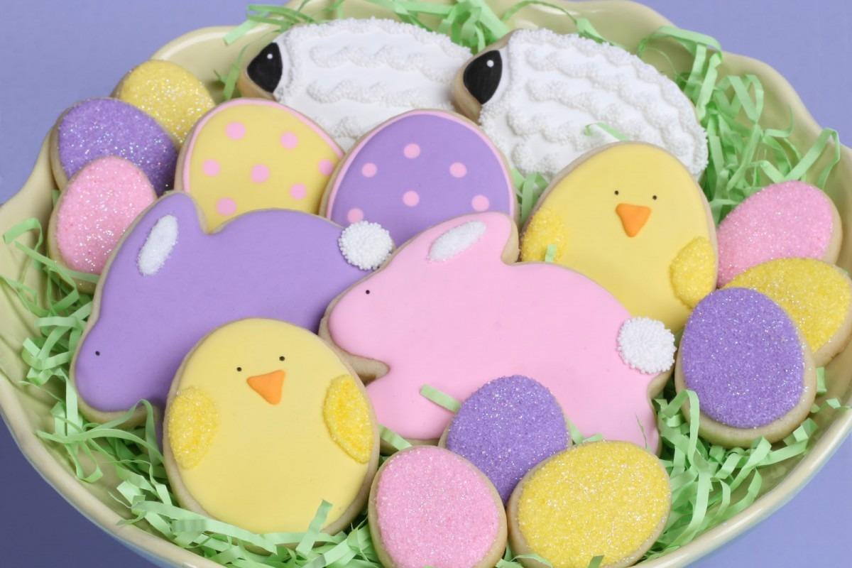 Cute Easter Cookies {how