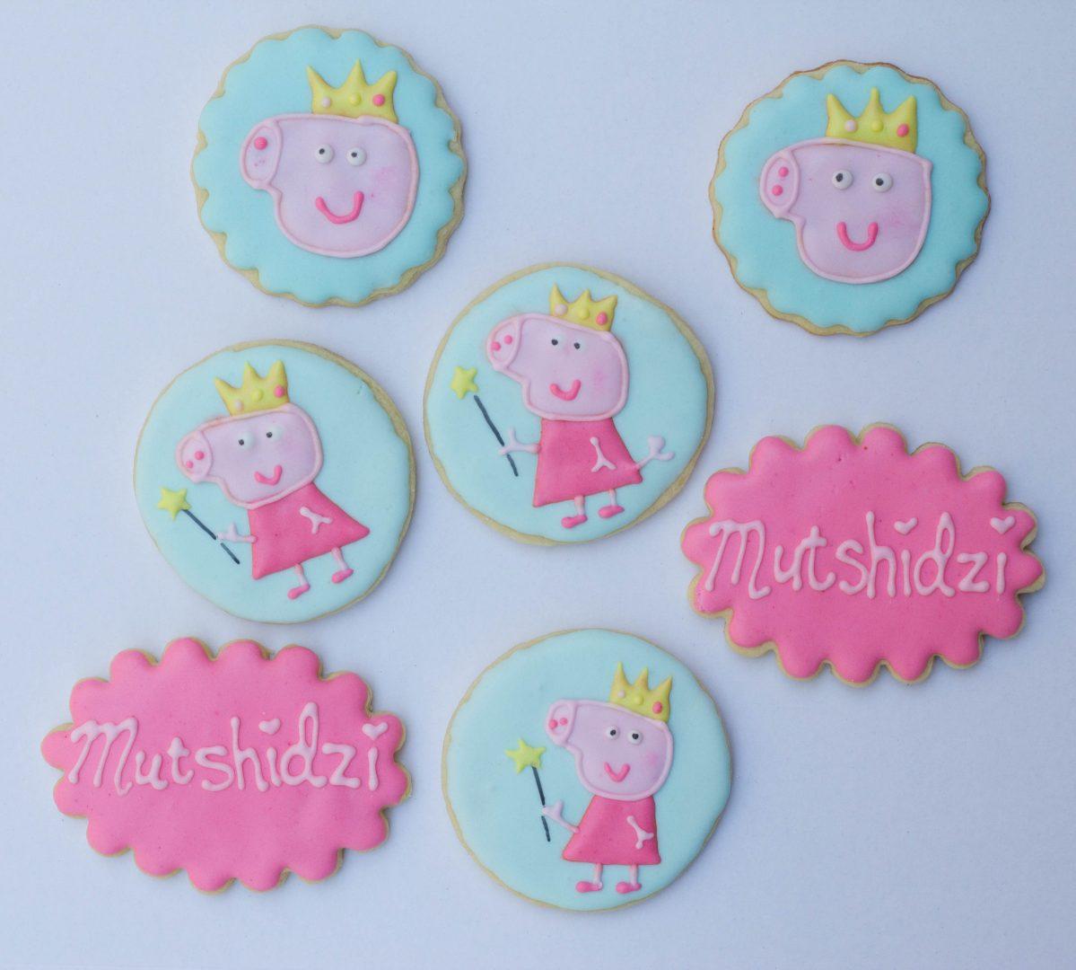 Peppa Pig Themed Cookies